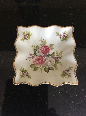 "REDUCED OLD FOLEY - James Kent Ltd ""HARMONY ROSE"" Pin Dish"