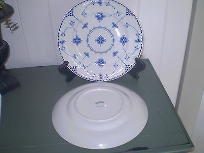 Blue Denmark JOHNSON BROS. 2 X plates 20 cm (8 inch)