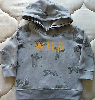As New Boys Hoodie Jumper Size 3