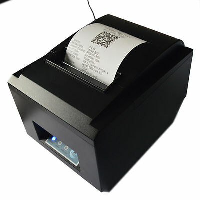 80mm Receipt POS Thermal Printer For ios & Android & Windows US Fast Shipping HE