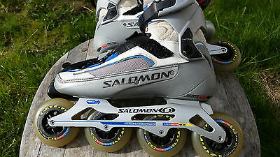 Salomon Pilot 9 woman's inline skates. Size UK 6.