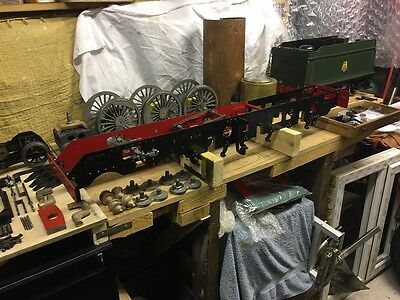Live steam 5 inch GWR KING part built locomtive steam