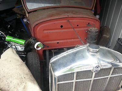 Vintage Car Parts From 1928 Rugby Hot Rod