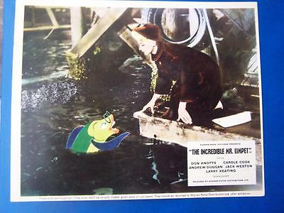 The Incredible Mr Limpet -  Lobby Card  Film Still (code BP3) 10 x 8