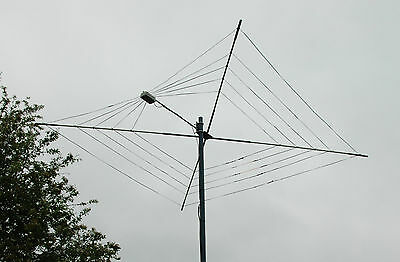 Cobweb Antenna Twin Wire Custom Built 10-12-15-17 And 20 Meters