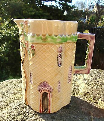 Vintage Art Deco Shorter & Sons Jug - Basket Weave Onion Dome Palace - Very Rare