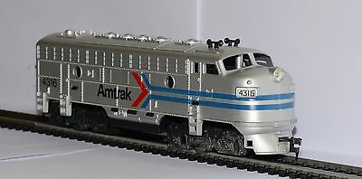 Unboxed HO gauge Tyco Amtrak F-7A diesel No.4316, possibly a dummy conversion.