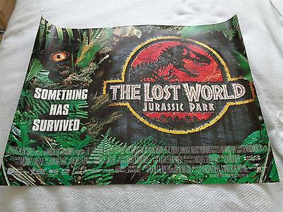Movie Poster - Jurassic Park 2 The Lost World - Quad Poster x 1