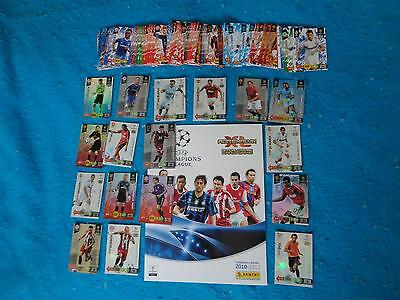 Panini Adrenalyn XL Champions League 2010 / 2011   10 - 11 Game Cards x 133