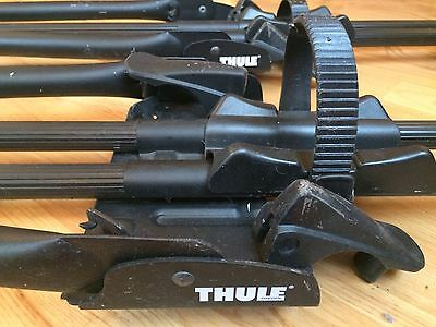 Thule Lockable Roof Cycle Carrier x 2