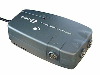 Philex SLx 2 Way Aerial Amplifier - Twin Output Signal Booster