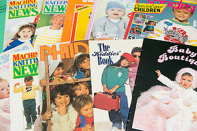 Knitting machine magazines. Knitting for babies and kids.