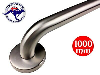 SAFETY RAIL 1000mm GRAB BAR STAINLESS STEEL SHOWER HANDLE HAND BATHROOM HANDRAIL