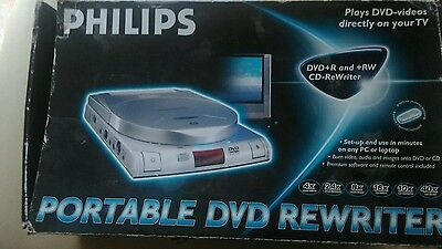 philips portable DVD/CD rewriter working order ideal christmas gift