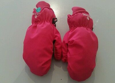 Girls snow gloves small size