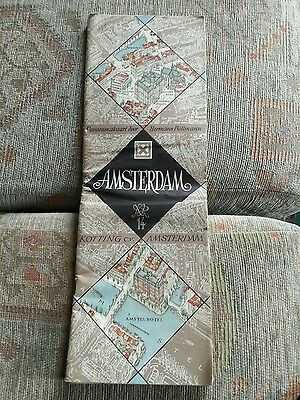 Vintage map of Amsterdam.