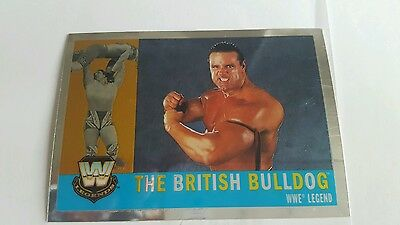 topps wwe heritage legend card