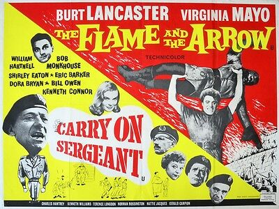 "Carry on Sergeant / flame arrow 16"" x 12"" Reproduction Movie Poster Photograph"