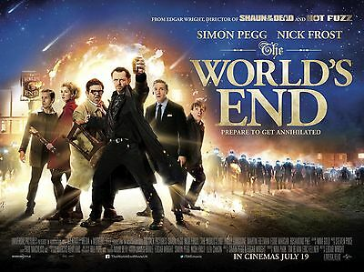 "The Worlds End 16"" x 12"" Reproduction Movie Poster Photograph"