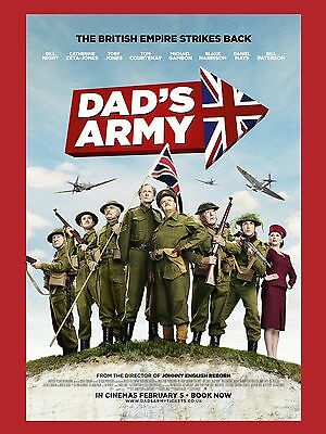 "Dads Army 2016 16"" x 12"" Reproduction Movie Poster Photograph 6"