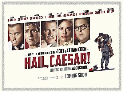 "Hail Caesar 16"" x 12"" Reproduction Movie Poster Photograph"