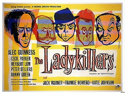 "The Ladykillers 1955 16"" x 12"" Reproduction Movie Poster Photograph"