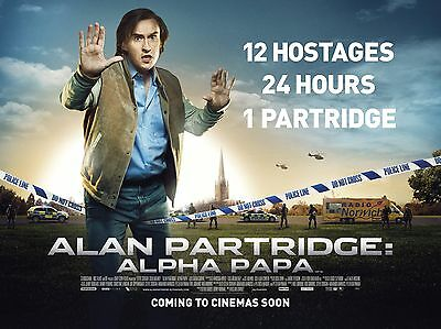 "Alan Partridge Alpha Papa 16"" x 12"" Reproduction Movie Poster Photograph"
