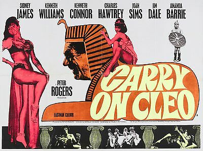 "Carry on Cleo 1964 16"" x 12"" Reproduction Movie Poster Photograph"