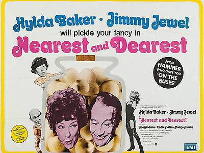 """Nearest and Dearest 1972 16"""" x 12"""" Reproduction Movie Poster Photograph"""