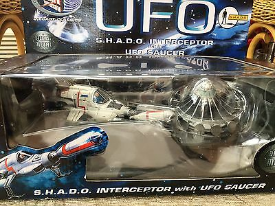 Product Enterprise Skydiver & Shado Interceptor with UFO Saucer