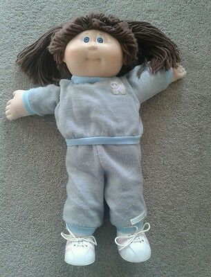 Vintage Cabbage Patch Kid Doll Girl