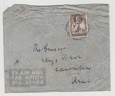 Nigerian Airmail from GV Period