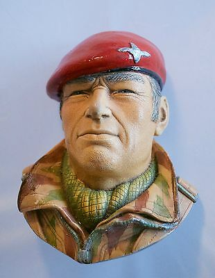 Chalk ware Paratrooper First Para's Bossons Legends Products Signed F Wright