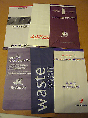 Airline Sick Bags