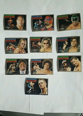 topps wwe heritage superstar cards