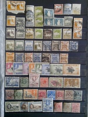 Lot timbres anciennes colonies GB belle cote