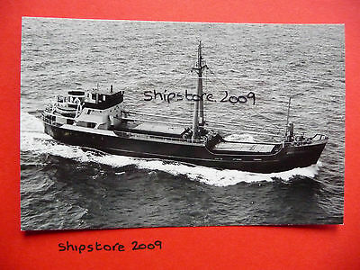 OOSTERBURGH of 1953 - Dutch coaster - Muller - SHIP PHOTOGRAPH