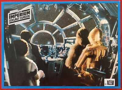Empire Strikes Back German Lobby Card Style Photos Set Of 7 Star Wars