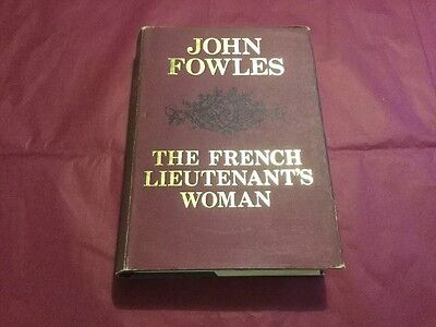 1969 The French Lieutenant's Woman John Fowles Dustwrapper 1st First Edition