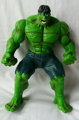 Talking Incredible hulk With Light Up Eyes 12 Inch Figure - Fully Working