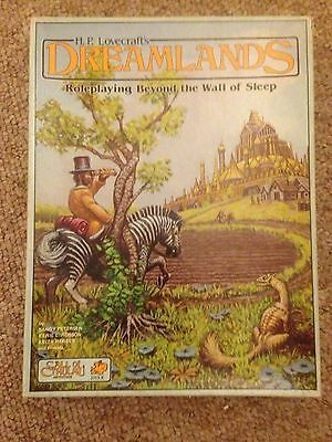 Call of Cthulhu HP Lovecraft's Dreamlands 1st Edition 1986 Chaosium