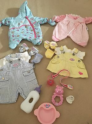 Baby Born Outfits & Accessories Snowsuit Dress Dungarees Socks
