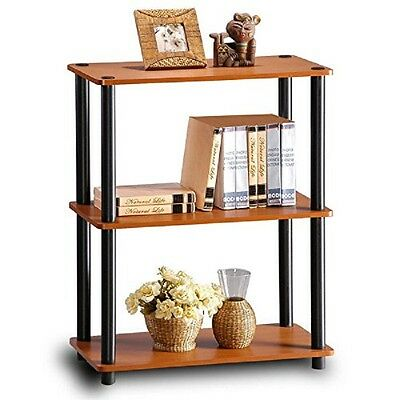 Shelf Rack 3 Tier Display Book Office Storage Kitchen Holder Home Room Furniture
