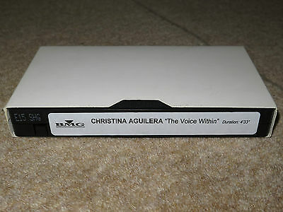 """Christina Aguilera """"The Voice Within"""" Promotional VHS 2003"""