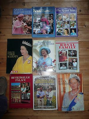 Royalty Book Collection x 9 Books