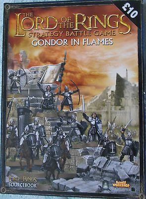 The Lord Of The Rings Gondor In Flames Strategy Battle Game Source Book