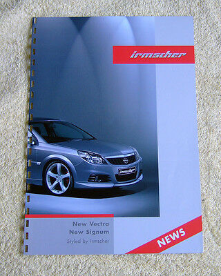 Vauxhall Irmscher Styling for Vectra C & Signum 2005 Models