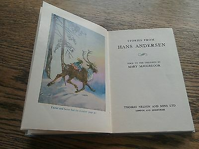 Stories from Hans Anderson - told to the children (Nelson) c1950 - colour plates