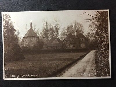 RP Vintage Postcard - Somerset #B2 - St Mary's Church, Frome