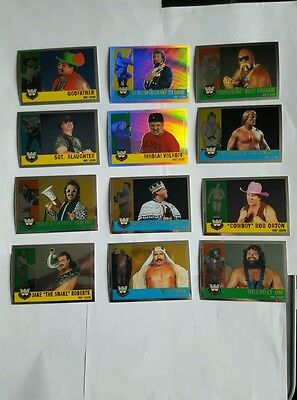 topps wwe heritage legend cards set of 12